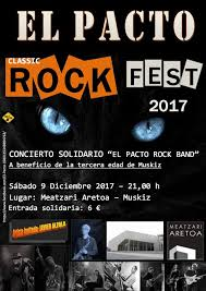 El PACTO ROCK FEST 2017 EN MUSKIZ