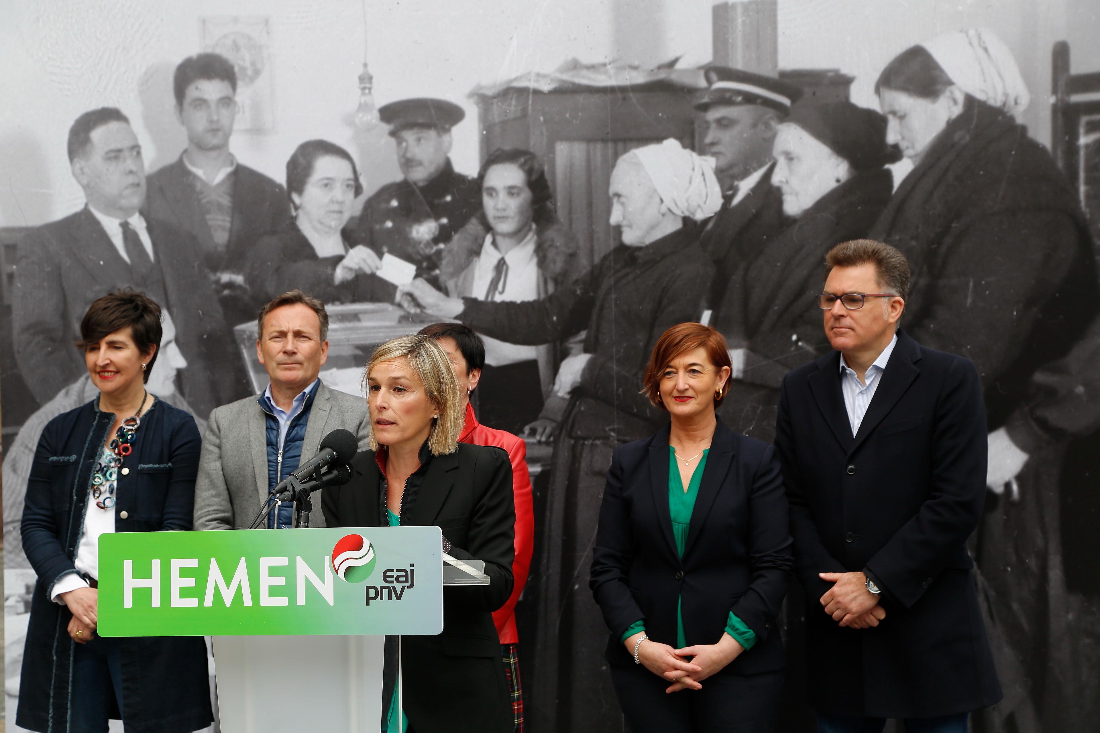 Idoia Sagastizabal consolida el compromiso de EAJ-PNV con la igualdad entre mujeres y hombres