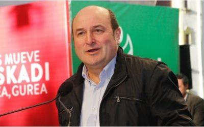 Ortuzar previene contra la trampa del «voto útil» a un PSOE que reconoce en público que EAJ-PNV es la mejor opción en Euskadi