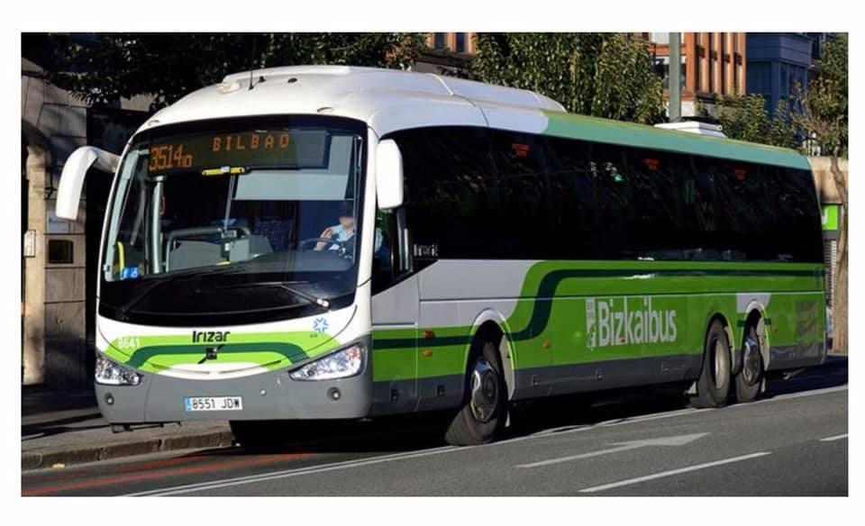 Bizkaibus amplia las paradas a demanda para mujeres